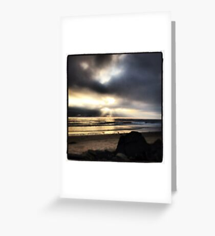 Cardiff by the Sea, CA Greeting Card