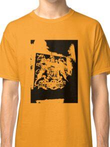 God Save the Queen. ER Crest- Transparent Classic T-Shirt