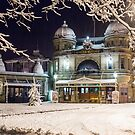 Buxton Opera House in the snow by Anna Phillips