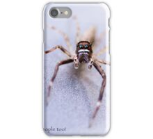 Spiders are People Too! iPhone Case/Skin