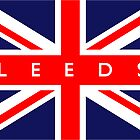 Leeds UK Flag by FlagCity