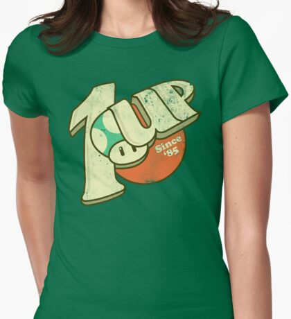 1UP Soda Womens Fitted T-Shirt