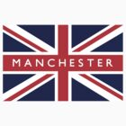 Manchester UK Flag by FlagCity