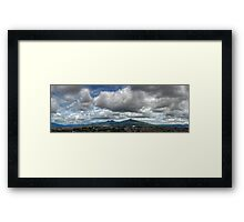 ©HCS Rain Season Cloudscape And Hill Framed Print