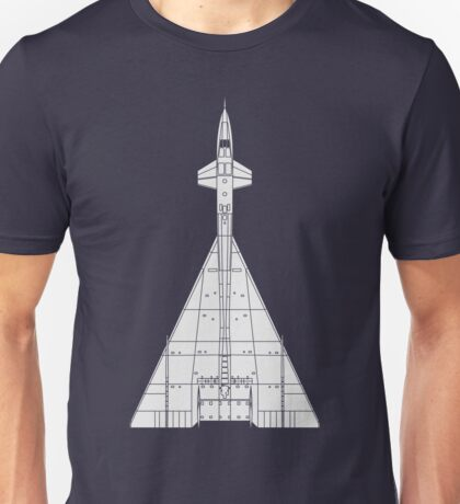 North American XB-70 Valkyrie Unisex T-Shirt