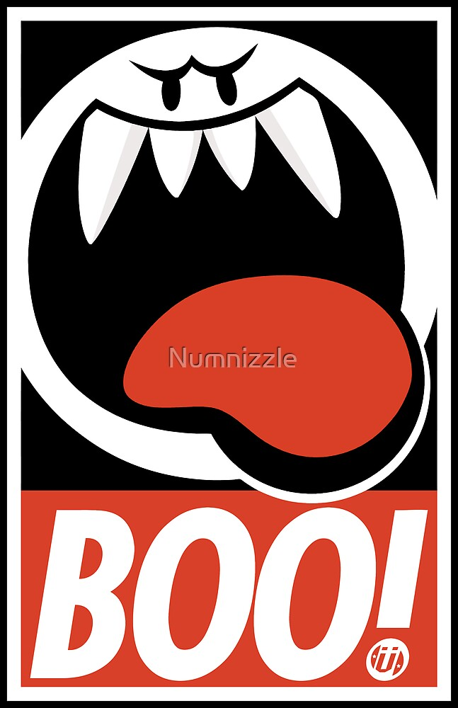 OBEY BOO! by Numnizzle