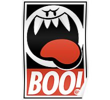 OBEY BOO! Poster