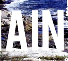 Maine Coast Sticker