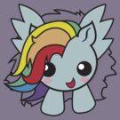 Kawaii Pegasus- Blue by AnimePlusYuma