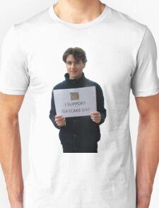 Ezra Koenig - I Support Oatcake Day T-Shirt