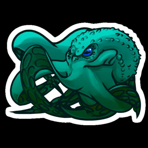 Octopus (Blue) by MonkeyKnot