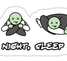 Good Night, Sleep Tight Sticker