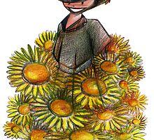 Sunflower by Luca Mesini