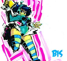 Jet Set Radio fanart : Bis by Rafchu