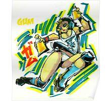 Jet Set Radio fanart : Gum Poster