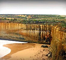 Gigantic Cliffs ~ Australia by Chris Chalk