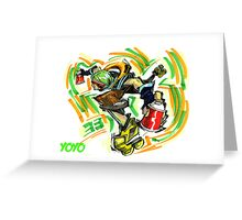 Jet Set Radio fanart : Yoyo Greeting Card