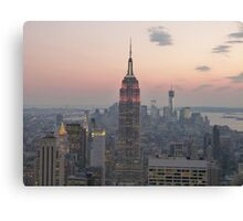 Empire State Building, New York Canvas Print