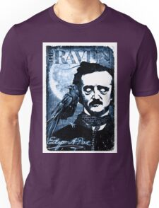 The Raven by Edgar A Poe Unisex T-Shirt