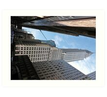 Chrysler Building, New York. Art Print