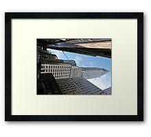 Chrysler Building, New York. Framed Print
