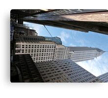 Chrysler Building, New York. Canvas Print