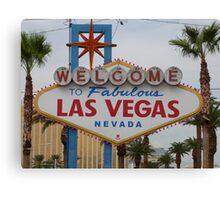 Las Vegas, USA Canvas Print