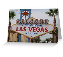 Las Vegas, USA Greeting Card