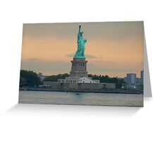 Statue of Liberty, New York Greeting Card