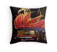 Las Vegas, The Flamingo at night. Throw Pillow