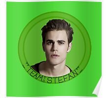 Team Stefan - TVD - The Vampire Diaries - (Designs4You) Poster