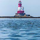 Longstone Lighthouse Northumberland by Roger Hall