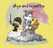Arya and Nymeria Kids Clothes