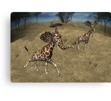 Girphants Canvas Print