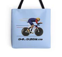 Wiggo Record Breaker Tote Bag
