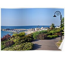 July Morning ~ Lyme Regis Poster