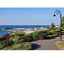 July Morning ~ Lyme Regis Photographic Print
