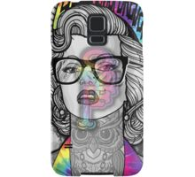 Tie Die Hipster Monroe Samsung Galaxy Case/Skin