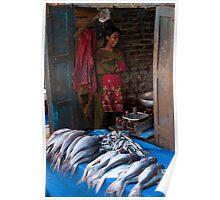 Fishmonger's daughter Poster
