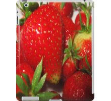 Home grown Strawberries iPad Case/Skin