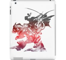 Final Fantasy VI logo grunge iPad Case/Skin