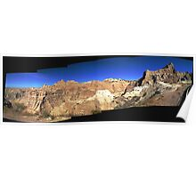 Badlands National Park Panorama Poster