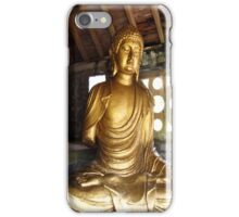 Buddha in Portmeirion Wales iPhone Case/Skin