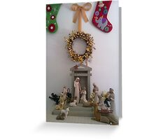 Christmas - Nativity Scene  Greeting Card