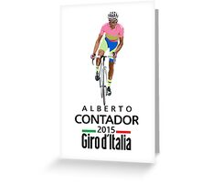 Giro 2015 Greeting Card
