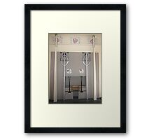 House For An Art Lover, Music Room Fireplace Framed Print