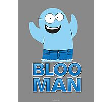 Bloo Man Photographic Print
