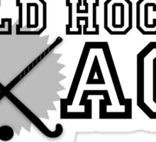 Field Hockey Coach Sticker