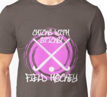 Chicks With Sticks - Field Hockey Unisex T-Shirt