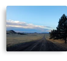 80 more miles (across the high lonesome) Canvas Print